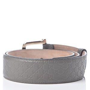 Authentic Gucci Microguccissima Belt